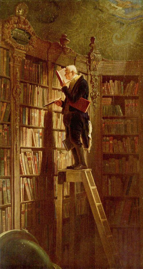 'Der Bücherwurm'